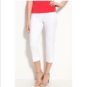 Nordstrom Gallia Moda Side Zip Crop Pants Size 14